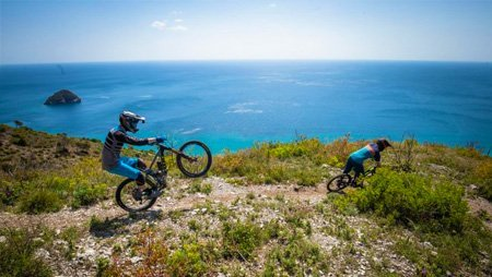 mtb trails in Finale Ligure
